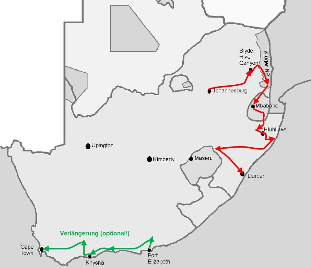Gefuhrte Rundreise Sudafrikas Magische Momente